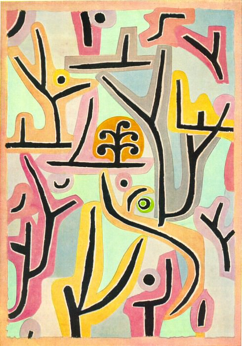 Park nara L(ucerne), 1938, 100x70 cm, Klee-Stiftung, Be. Paul Klee