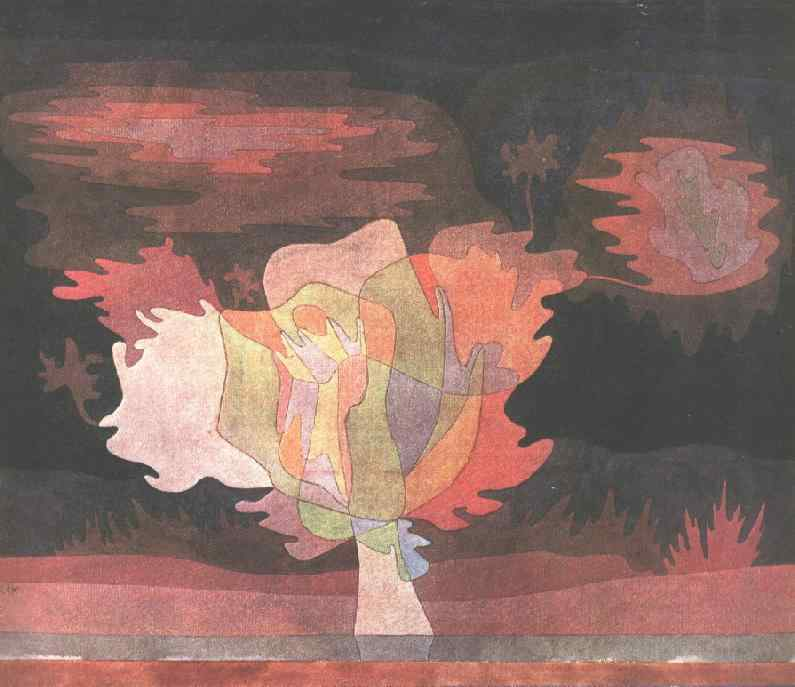 Before the snow, 1929, Collection Allenbach, Bern. Paul Klee