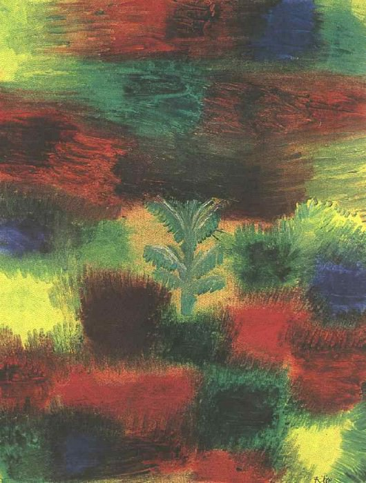 Little Tree Amid Shrubbery, 1919, Private, England. Paul Klee