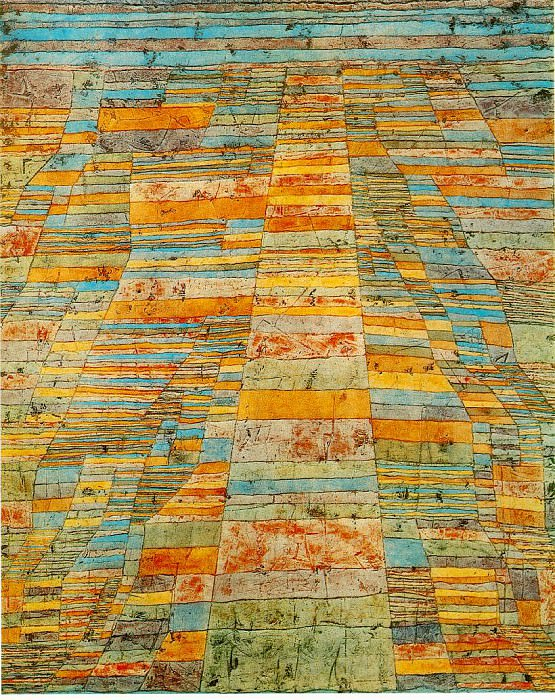 Highway and byways, 1929, Collection Christoph and Andr. Paul Klee