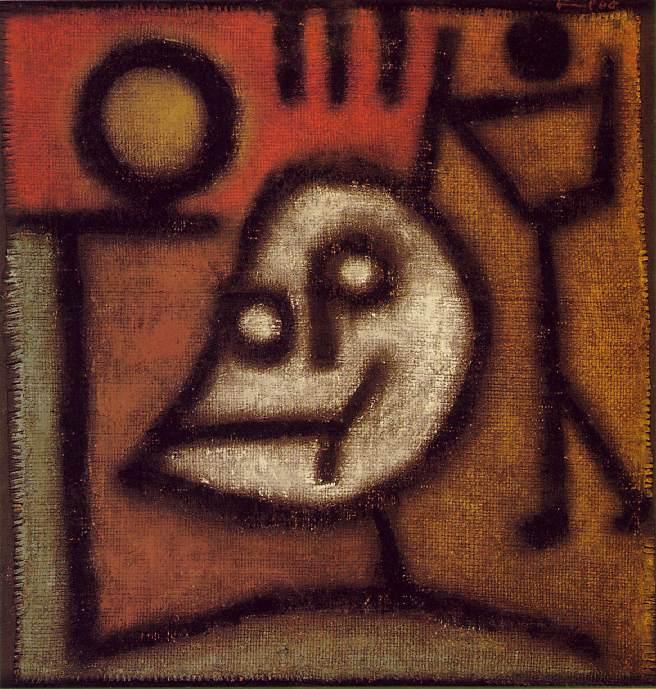 Смерть и огонь, 1940. Пауль Клее