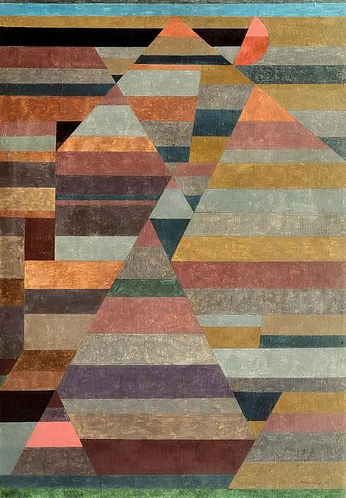 Necropolis. Paul Klee