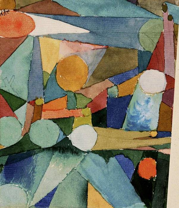 Цветные формы, 1914. Пауль Клее