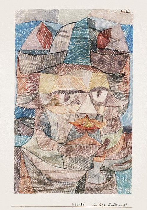 The last of the mercenaries, 1931, Watercolor on paper,. Paul Klee