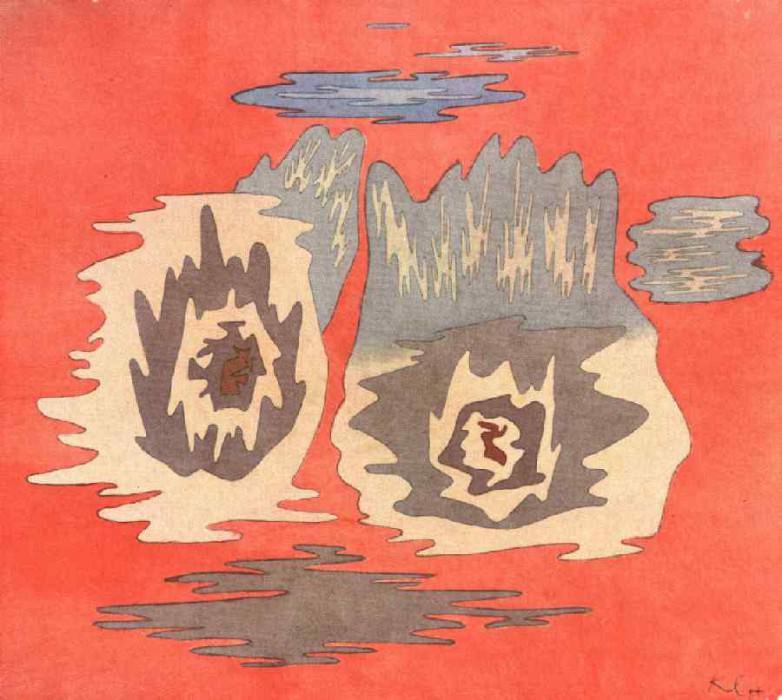 Место двойняшек, 1929. Пауль Клее