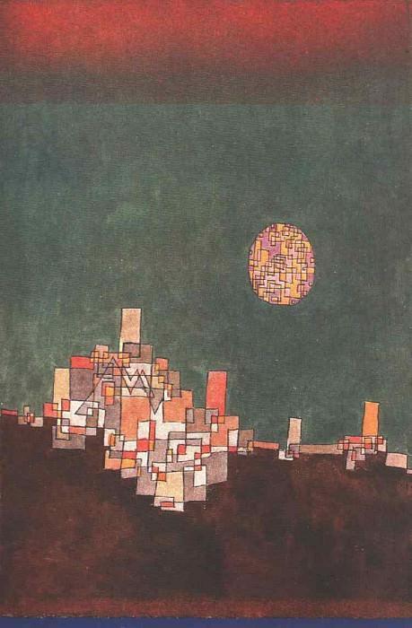 Chosen Site, 1927, Private, Munchen. Paul Klee