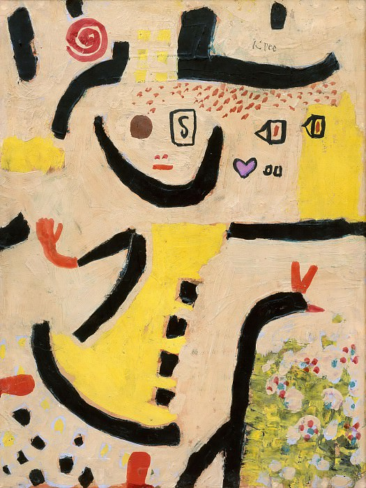 A Childrens Game. Paul Klee
