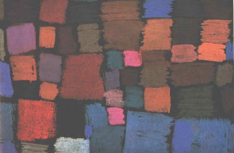Coming to bloom, 1934, Galerie Beyeler, Basel. Paul Klee