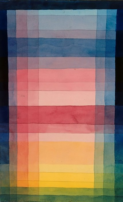 Architecture of the Plane. Paul Klee