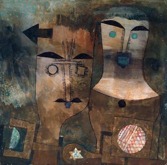 A pair of gods. Paul Klee