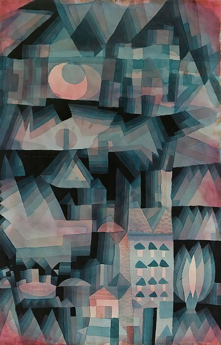Traum-Stadt. Paul Klee