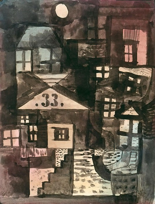 In the old part of town, number 33. Paul Klee