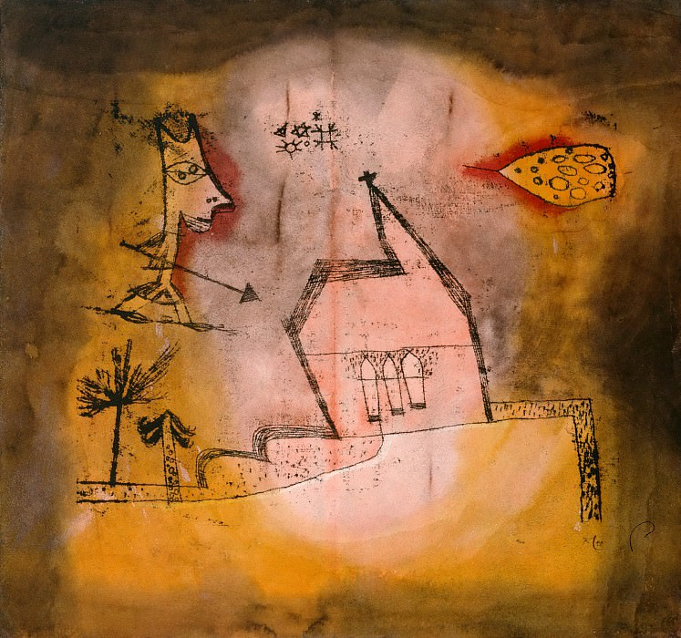 Quivering Chapel. Paul Klee