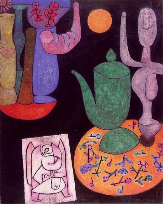 Untitled (Stilleben), 1940, 100 x 80.5 cm, Private, Sch. Paul Klee