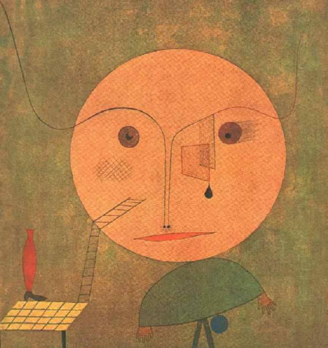 Error on green, 1930, Galerie Beyeler, Basel. Paul Klee
