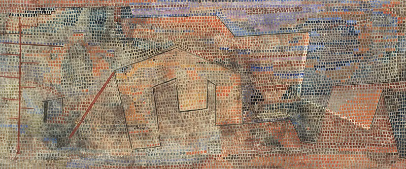 Softened Hardness. Paul Klee