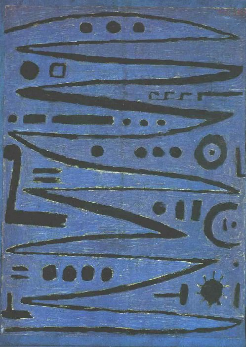 Heroic Fiddling, 1938, Private, USA. Paul Klee