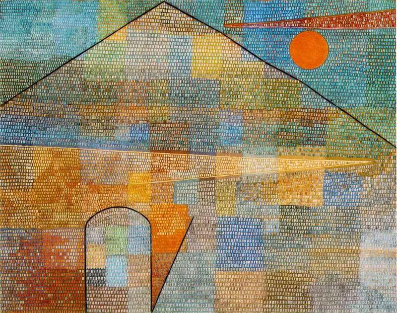 Ad Parnassum, 1932, 100x126 cm,. Paul Klee