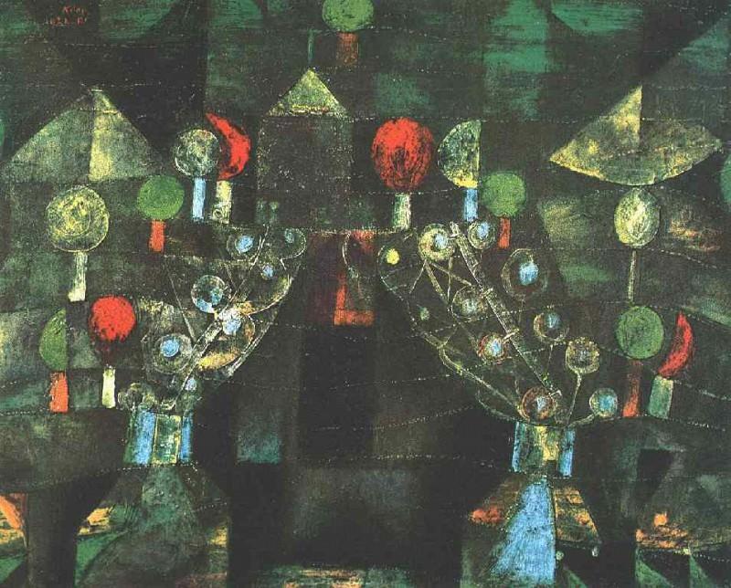 Павильон женщин, 1921. Пауль Клее