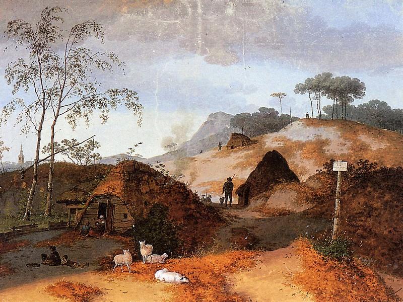 Пейзаж с дюнами в Нуланде. Иосиф Август Книп