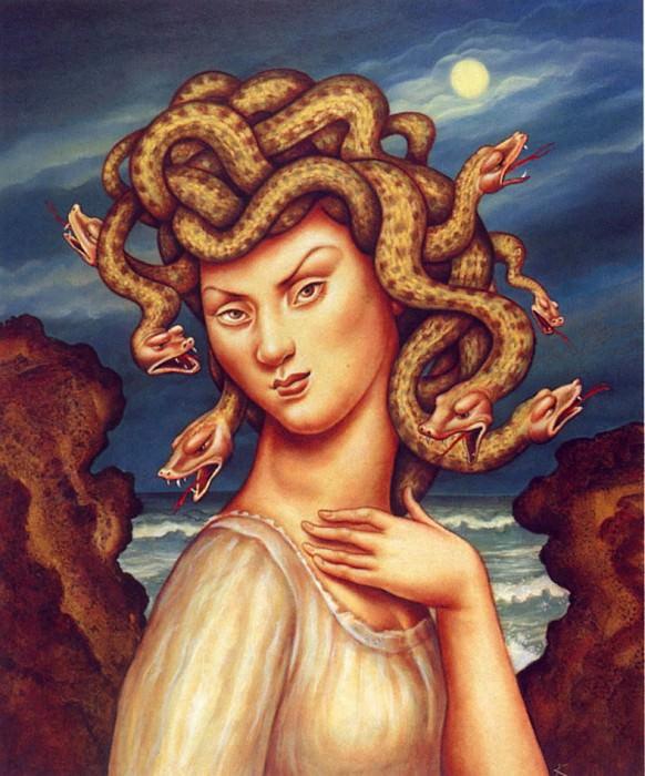 Medusa. Anita Kunz