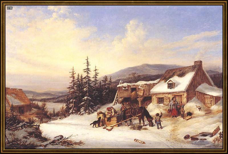 Обитаемая ферма (1856). Корнелиус Кригхофф