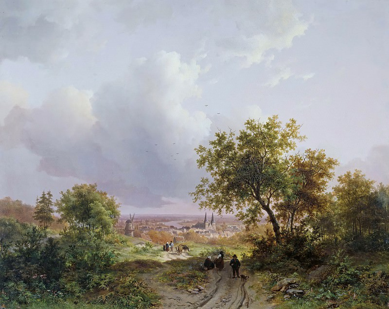 Летний пейзаж. Баренд Корнелис Куккук