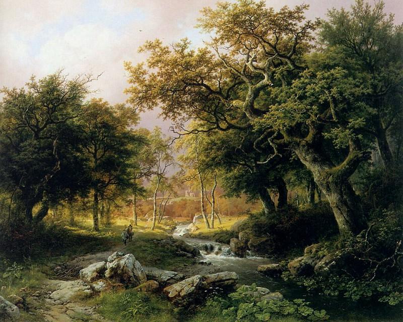 Barend Cornelis Forest landscape. Barend Cornelis Koekkoek