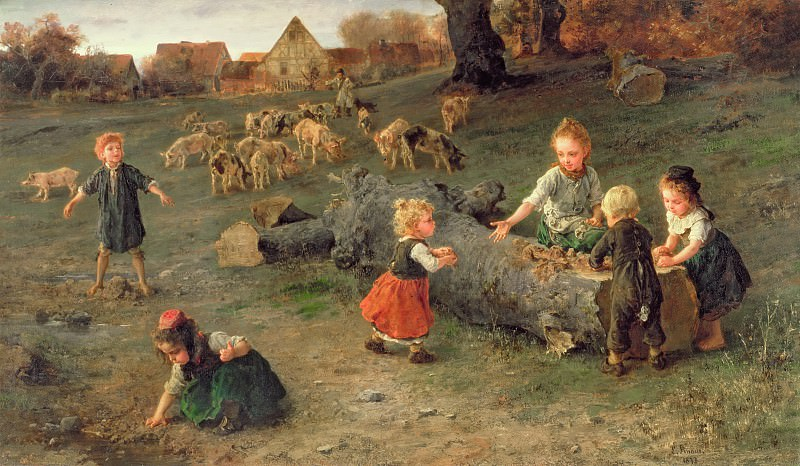 Mud Pies. Ludwig Knaus
