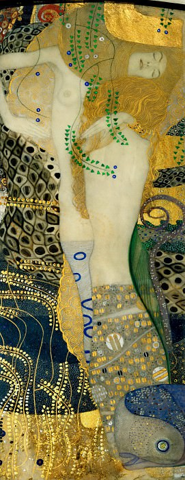 Water Serpents I. Gustav Klimt