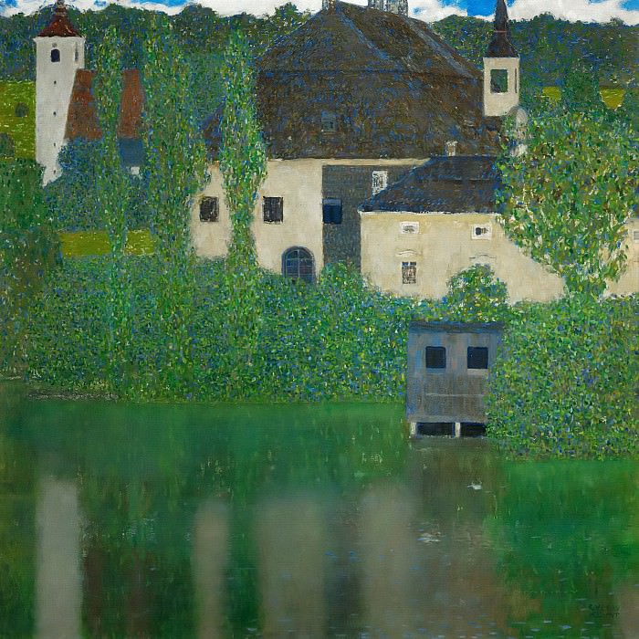 Schloss Kammer on the Attersee I. Gustav Klimt