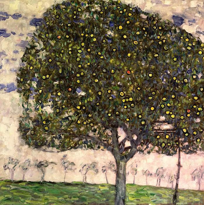 The Apple Tree II. Gustav Klimt