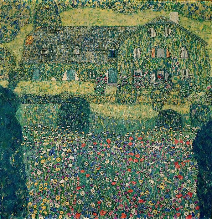 Country House by the Attersee. Gustav Klimt