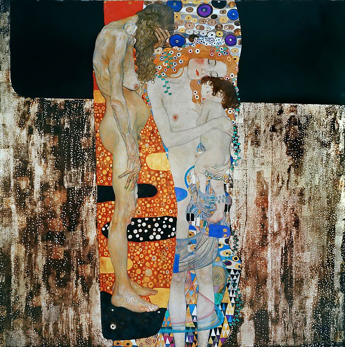 The Three Ages of Woman. Gustav Klimt