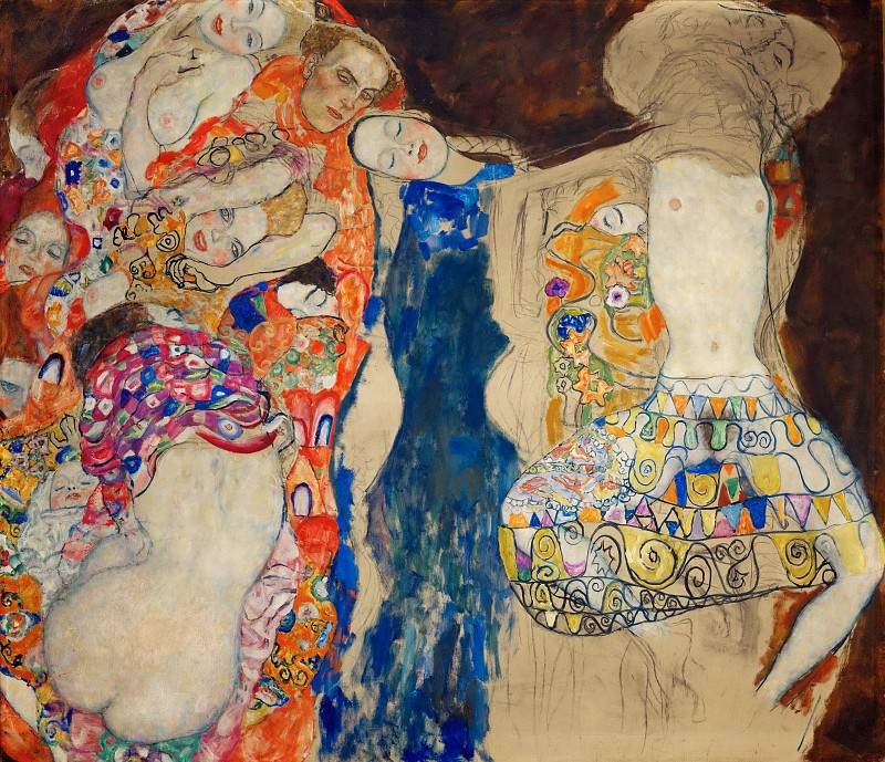 The Bride. Gustav Klimt