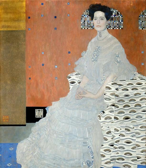 Portrait of Fritza Riedler. Gustav Klimt