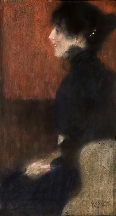 Portrait of a Lady. Gustav Klimt