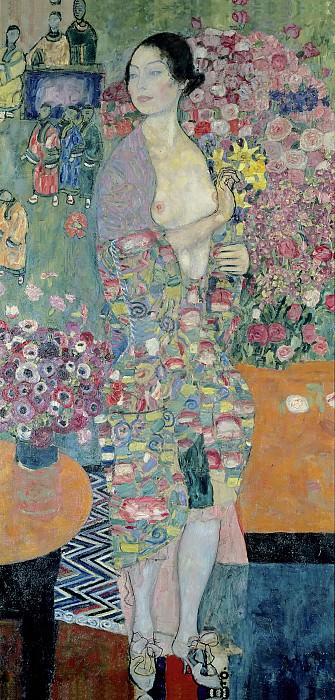 The Dancer. Gustav Klimt