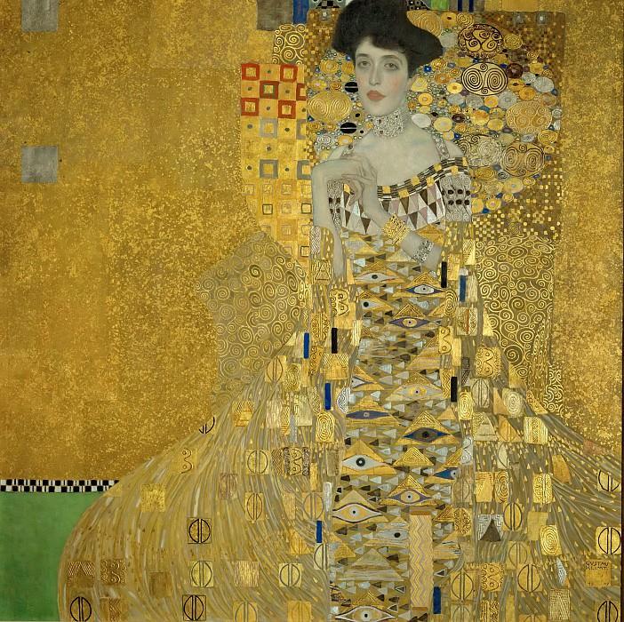 Adele Bloch-Bauer I. Gustav Klimt