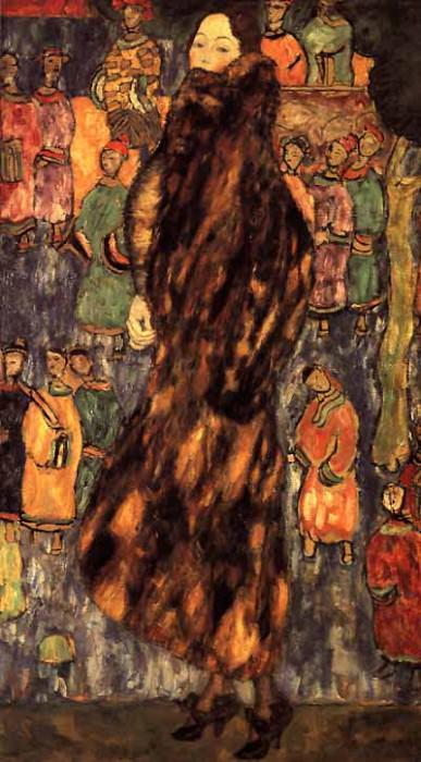 Der Iltis Pelz. Gustav Klimt