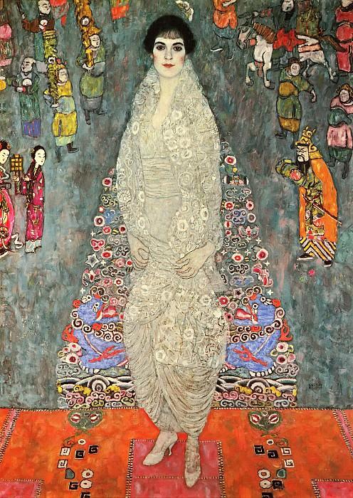 Portrait of Elisabeth Baroness Bachofen-Echt. Gustav Klimt