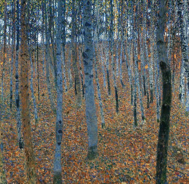 Beech Forest I. Gustav Klimt
