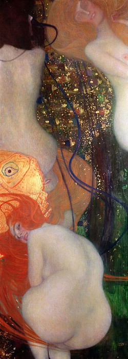 Goldfish. Gustav Klimt