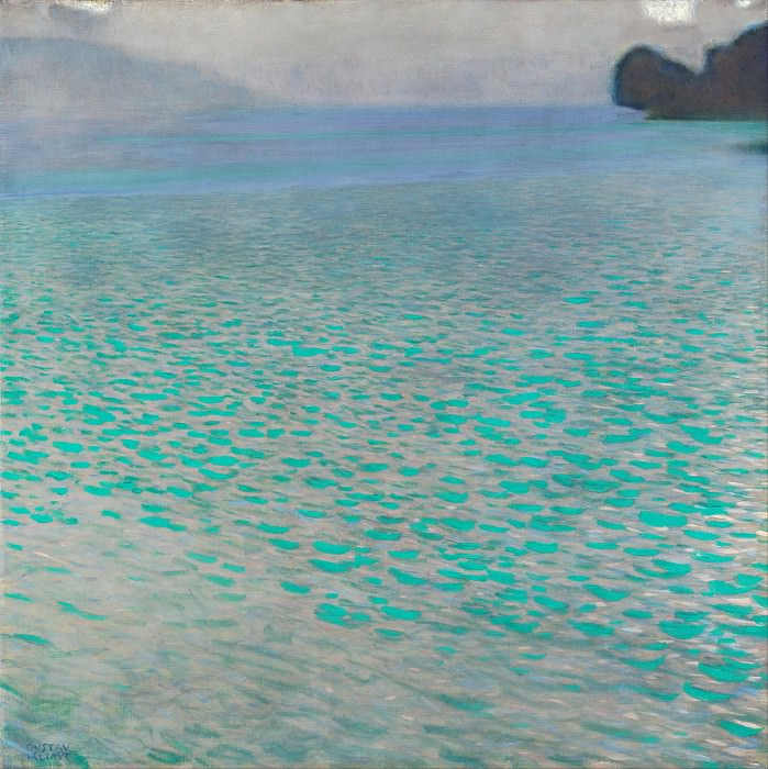 The lake Attersee. Gustav Klimt