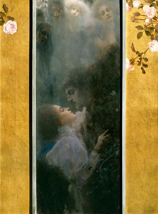 Love. Gustav Klimt
