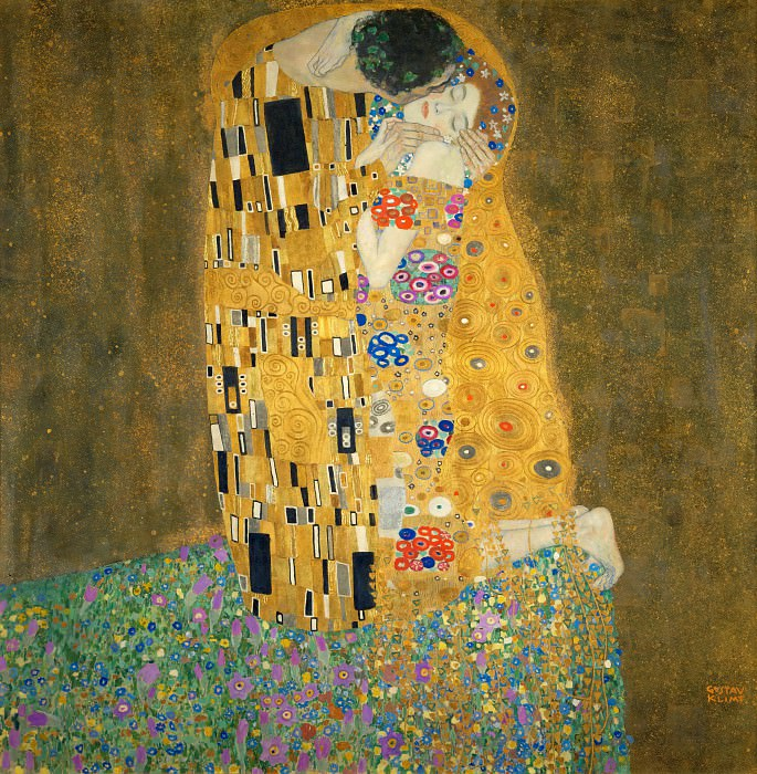 The Kiss. Gustav Klimt