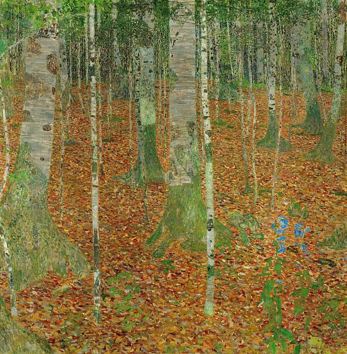 The Birch Wood. Gustav Klimt