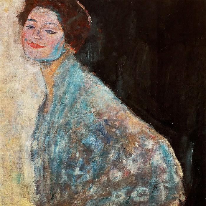 Портрет дамы в белом. Густав Климт