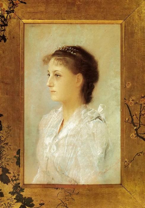 Эмилия Флёге в 17 лет. Густав Климт