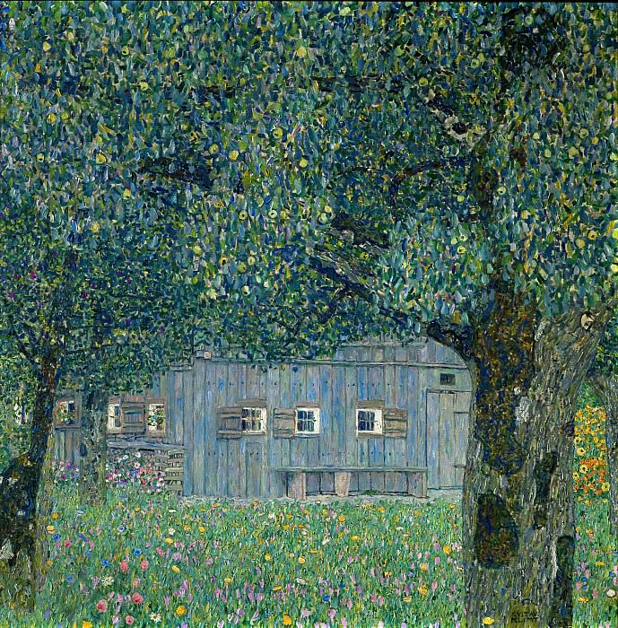 Upper Austrian Farmhouse. Gustav Klimt